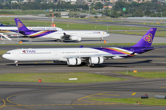 Thai Airways Airbus A340 600