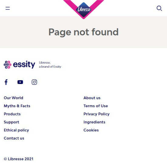 Libresse Know Your V Campaign Taken Down