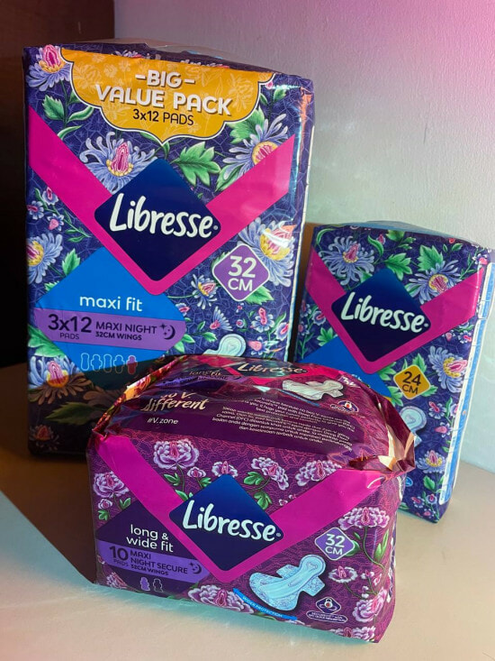 Libresse V Kebaya Packaging