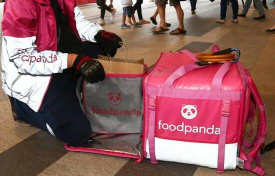 Foodpanda Rider Delivery Food Bag