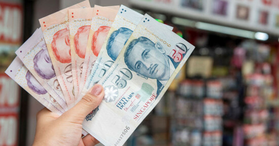 Singapore Money Cash